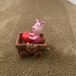 Precious Moments Piglet In Wagon 122408